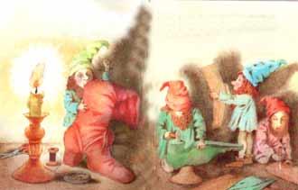 маленькие человечки картинки братья гримм